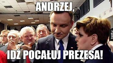 Andrzej Duda już 2 lata jest prezydentem. Przypominamy najlepsze memy