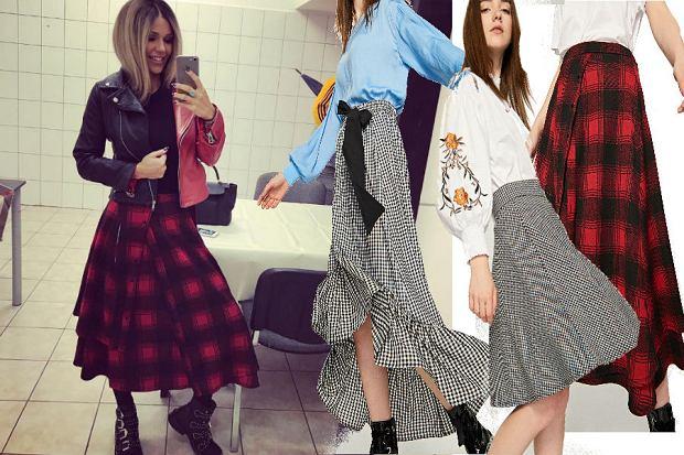 Doda w modnym deseniu: spódnica w kratkę z Reserved
