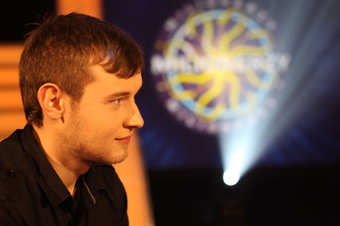 Milionerzy pierwszy milion  n/z: Krzysztof Wojcik foto: TVN