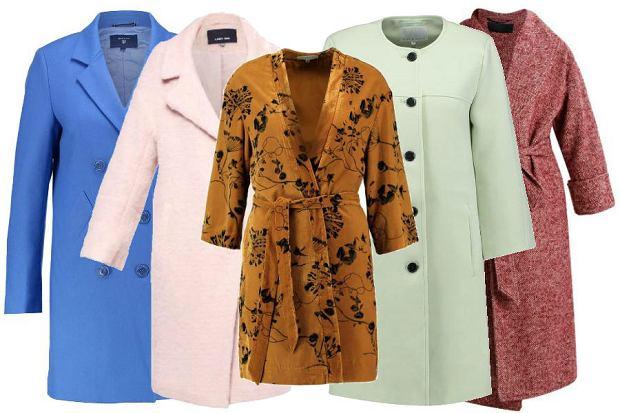 fot. kolorowe płaszcze na jesień