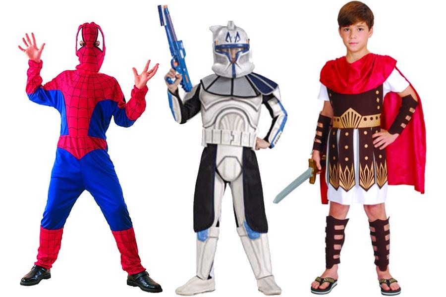 Stroje na Halloween dla chłopców