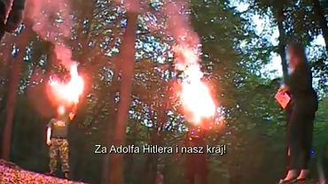"""Zatrzymania po reportażu TVN o neonazistach. """"Nie zdążyli ukryć dowodów"""""""