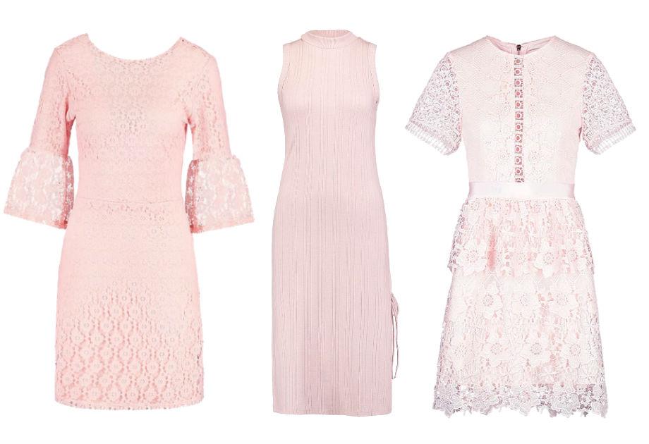 sukienki różowe
