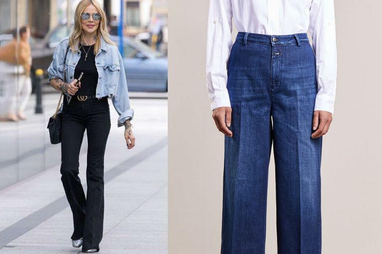 Jeansy z wysokim stanem - wydłuż nogi modnym fasonem!