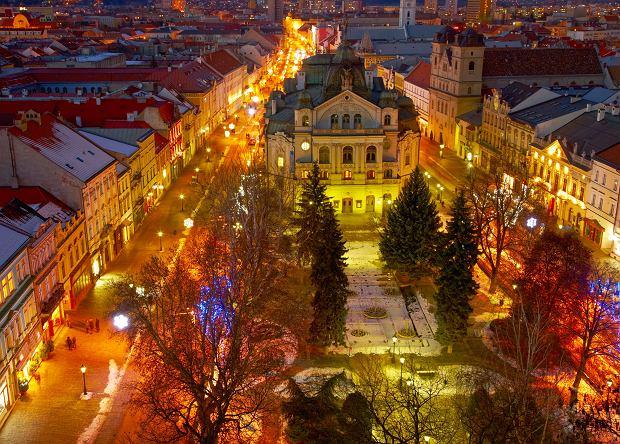 Nocna panorama Koszyc