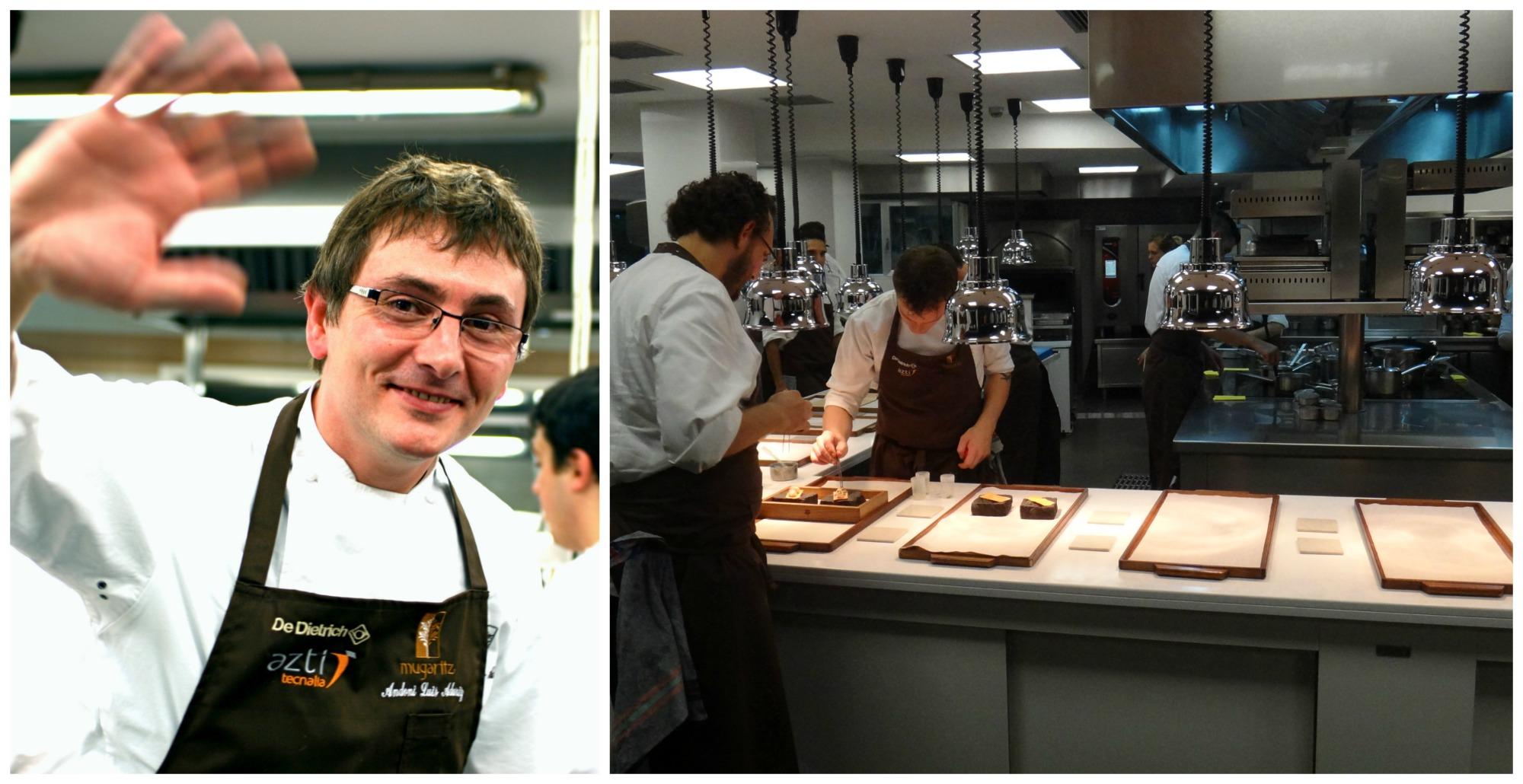 Andonio Louis Aduriz (z lewej), szef kuchni restauracji Mugaritz w San Sebastian, to jeden z bardziej utytułowanych kontynuatorów nowoczesnej kuchni baskijskiej (fot. Kok Chih & Sarah Gan / Flickr.com / CC BY-NC 2.0 / ADC618 / Flickr.com / CC BY-NC 2.0)