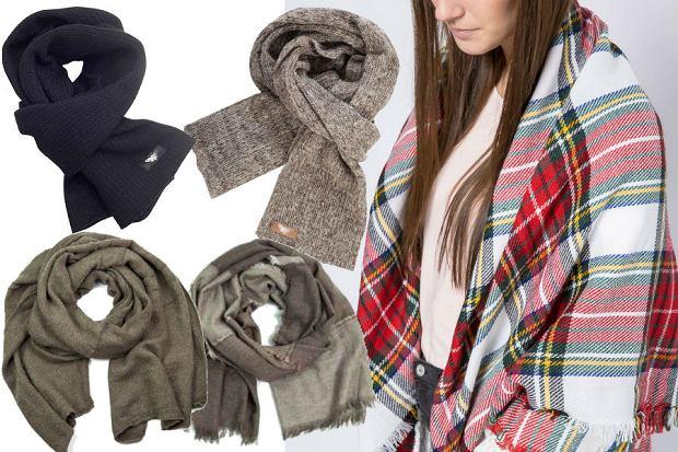 fot. materiały partnera/ modne szaliki na jesień i zimę