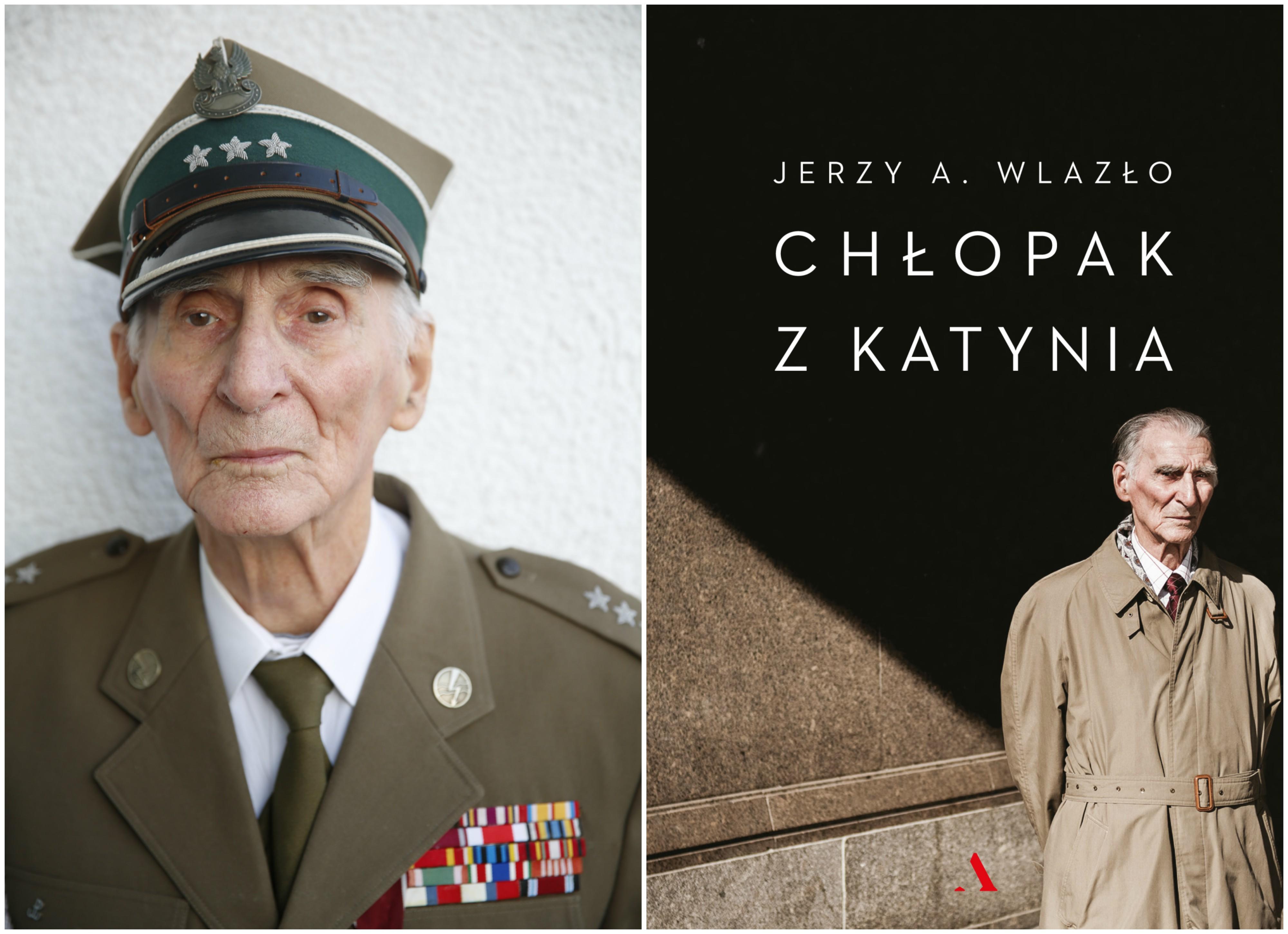 Książka 'Chłopak z Katynia' ukazała się nakładem Wydawnictwa Agora. Na zdjęciu po lewej Henryk Troszczyński (fot. materiały prasowe)