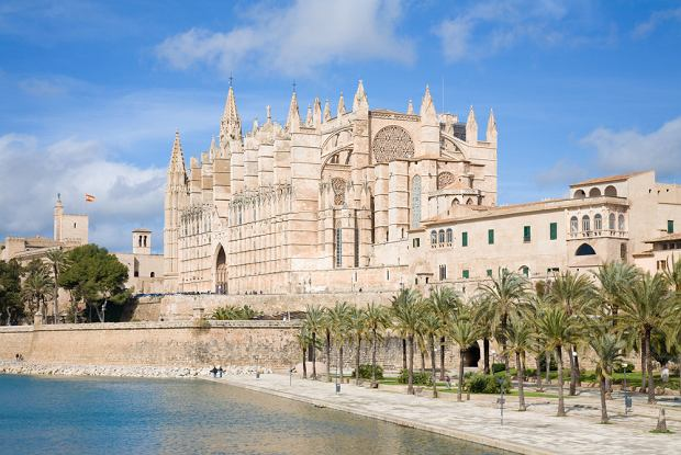 Katedra La Seu w Palmie na Majorce