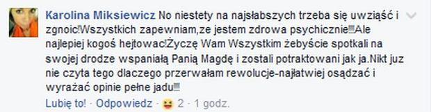 Post właścicielki Bajkowej