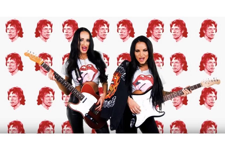 Siostry Godlewskie bezczeszczą wielki przebój The Rolling Stones