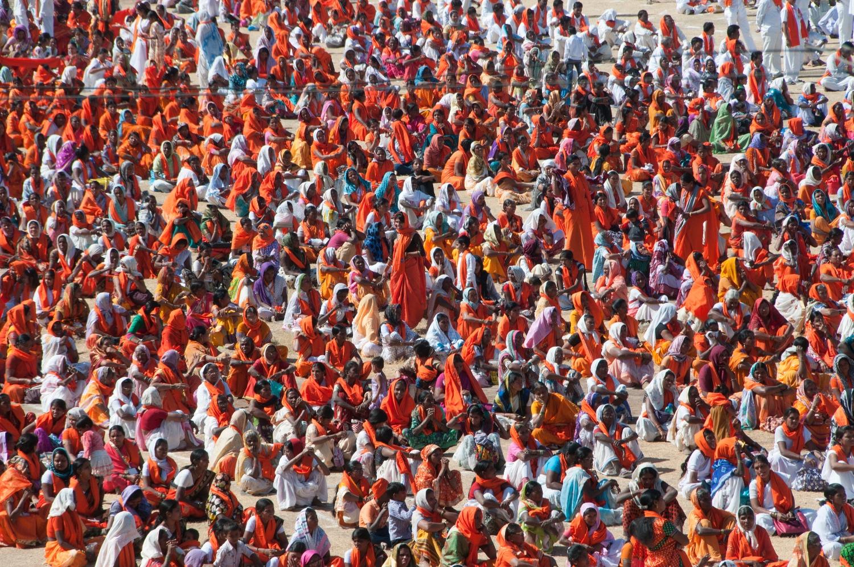 Mahatma Gandhi wierzył w skuteczność pokojowego charakteru protestów (fot. Shutterstock)