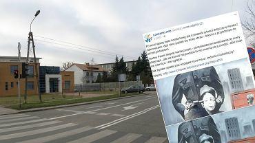 """Najpierw hitlerowcy, teraz to. Nowy mural w Łomiankach. """"Jak się komuś nie podoba, nie musi tu chodzić"""""""