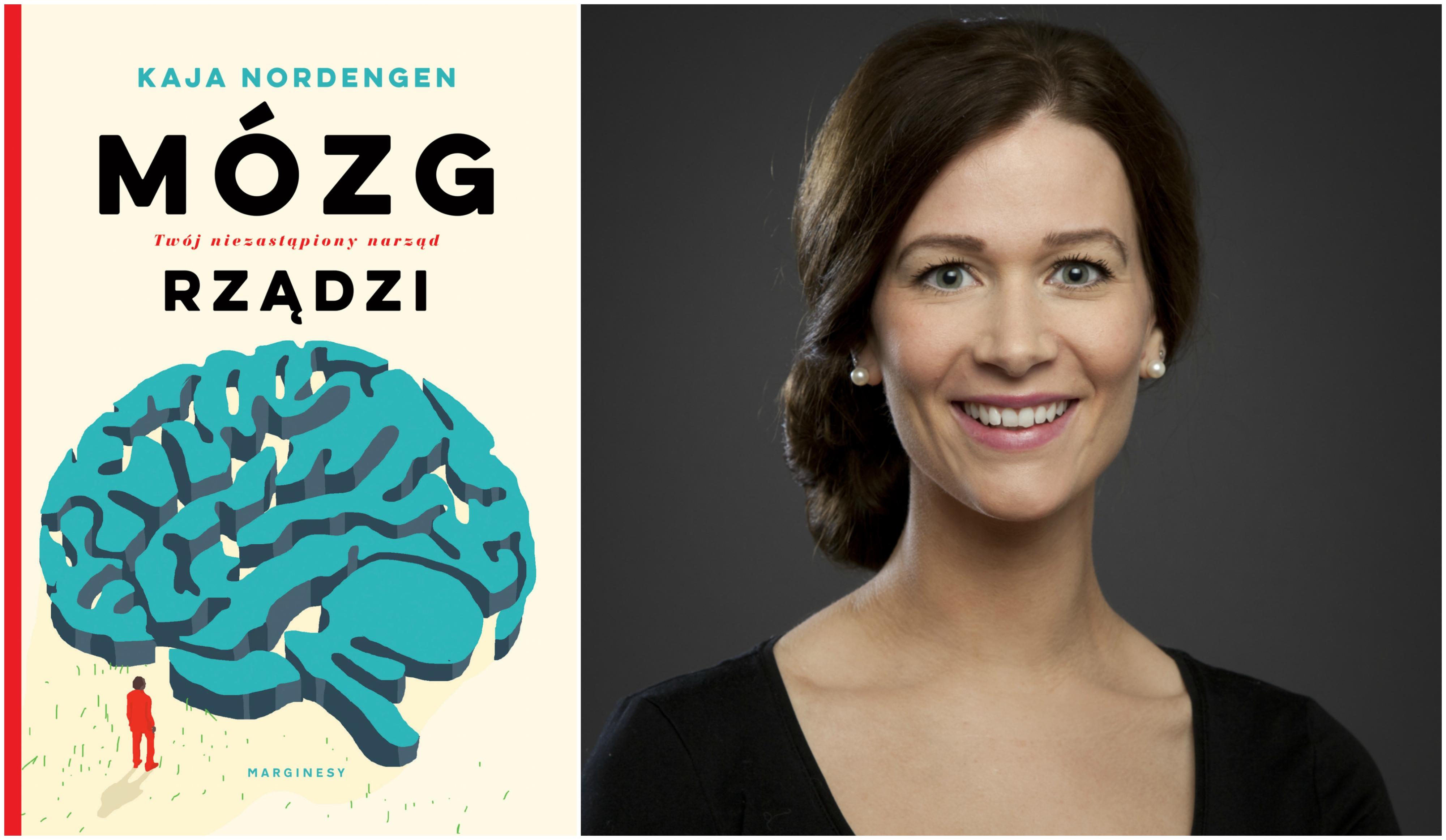 Książka 'Mózg rządzi. Twój niezastąpiony narząd' w polskim przekładzie Mileny Skoczko ukazała się nakładem Wydawnictwa Marginesy (fot. materiały prasowe)