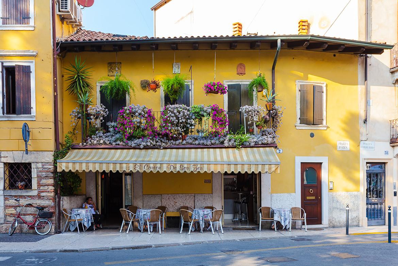 Kawiarnia w Weronie, fot. iStock