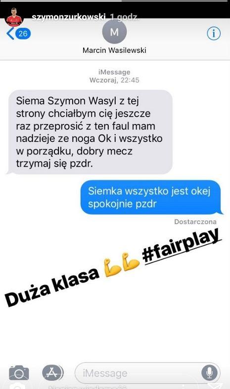 Ładny gest byłego reprezentanta Polski wobec młodszego kolegi