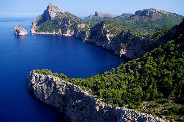 Cap de Formentor na Majorce