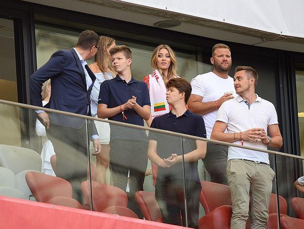 Marcelina Zawadzka na meczu Polska - Litwa