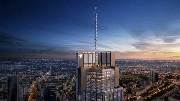To będzie najwyższy budynek w Unii Europejskiej. Stanie w Warszawie! Zobacz, jak będzie wyglądał