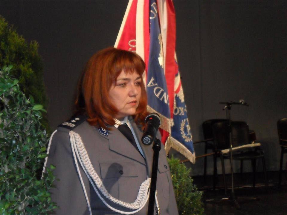 Młodszy inspektor Grażyna Broda (fot. archiwum prywatne)