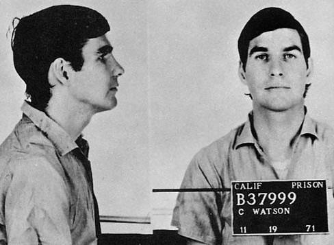 Charles ''Tex'' Watson w więzieniu, 1971 r. (fot. Wikimedia.org / Domena publiczna)