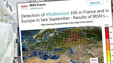 Radioaktywny obłok rutenu-106 przywędrował z Rosji. Normy przekroczono tysiąc razy