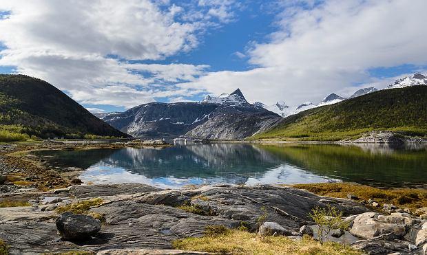 Widoki na trasie Helgelandskysten