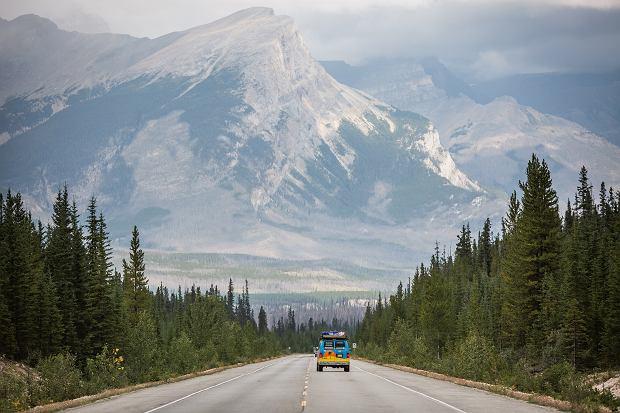 Icefield Parkway w Kanadzie