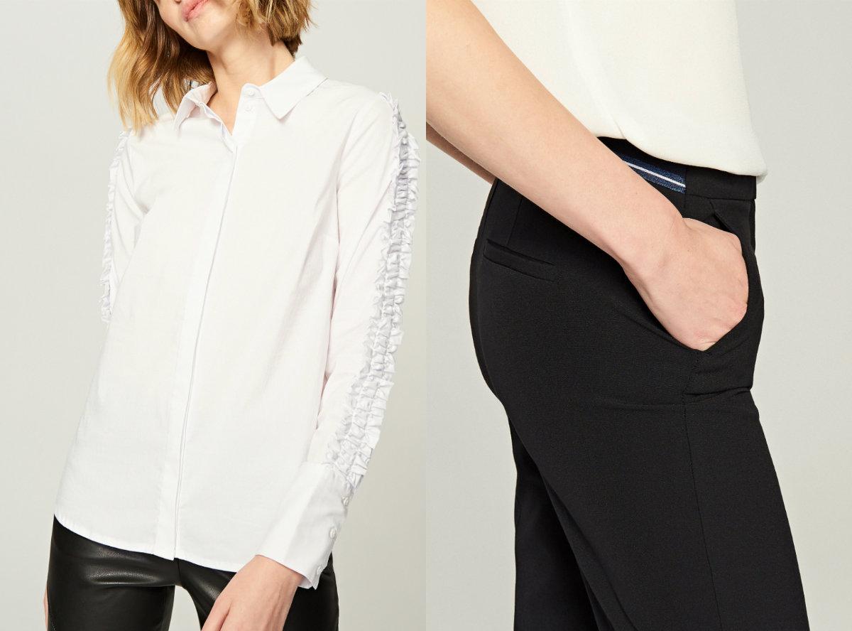 koszula spodnie Reserved