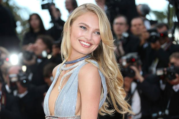 Model Romee Strijd poses for photographers upon arrival at the opening ceremony of the 71st international film festival, Cannes, southern France, Tuesday, May 8, 2018. (Photo by Joel C Ryan/Invision/AP)