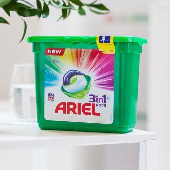 Rewolucja w praniu: ARIEL 3w1 POD