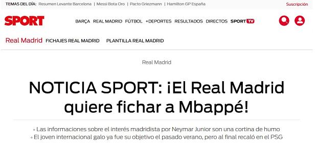 Real Madryt zainteresowany Kylianem Mbappe
