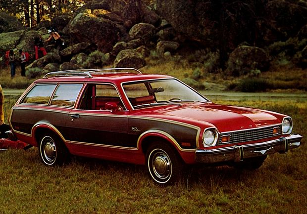Ford Pinto Squire Wagon 1976