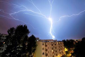 Nawałnice przejdą nad Polską. IMGW ostrzega przed burzami z gradem