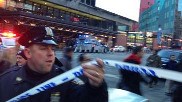 Nowy Jork: eksplozja na Manhattanie. Źródła policyjne mówią o wybuchu rurobomby