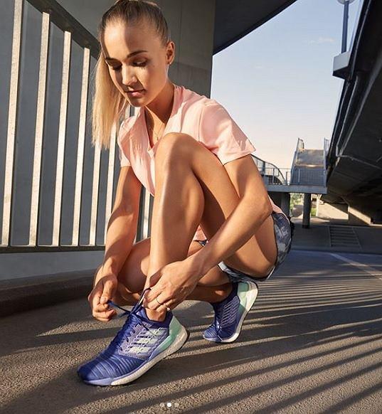 Dobre buty do biegania, to według Julity Koteckiej podstawa.