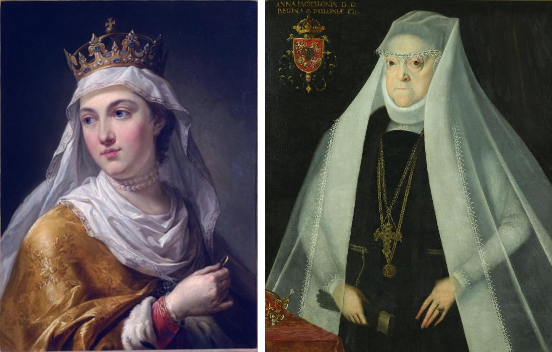 W historii Polski były dwie kobiety-królowie - św. Jadwiga Andegaweńska i Anna Jagiellonka (fot. commons.wikipedia.org)