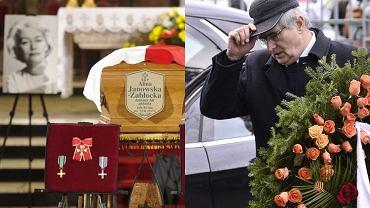 Pogrzeb Aliny Janowskiej. Na cmentarzu minister Gliński, znani aktorzy