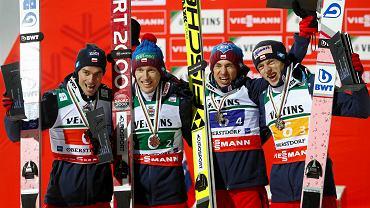Jest! Jest! Jest! Mamy to!!! Polska na podium drużynówki mistrzostw świata w lotach