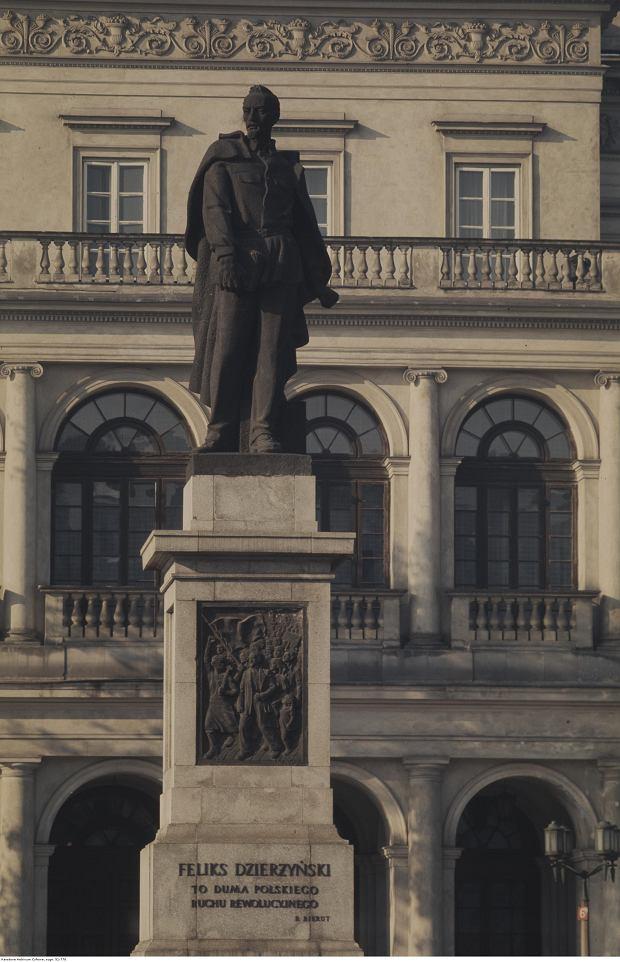 Pomnik Feliksa Dzierżyńskiego w Warszawie