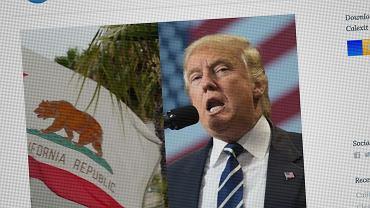 Donald Trump może mieć własny brexit. Kalifornia chce się odłączyć od USA. Zaczęli zbierać podpisy
