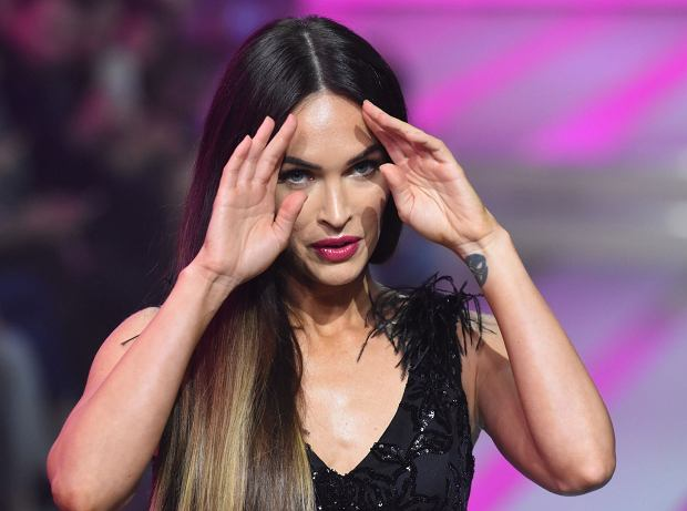 Mandatory Credit: Photo by Carlos Tischler/REX/Shutterstock (9047179s)  Megan Fox on the catwalk  Fashion Fest, Autumn Winter 2017, Mexico City, Mexico - 08 Sep 2017