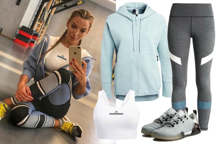 Ewa Chodakowska, strój sportowy, adidas
