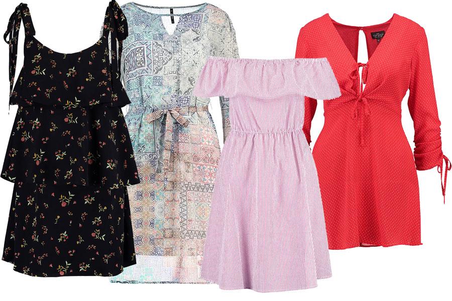 Kolaż z sukienkami/Materiały partnera