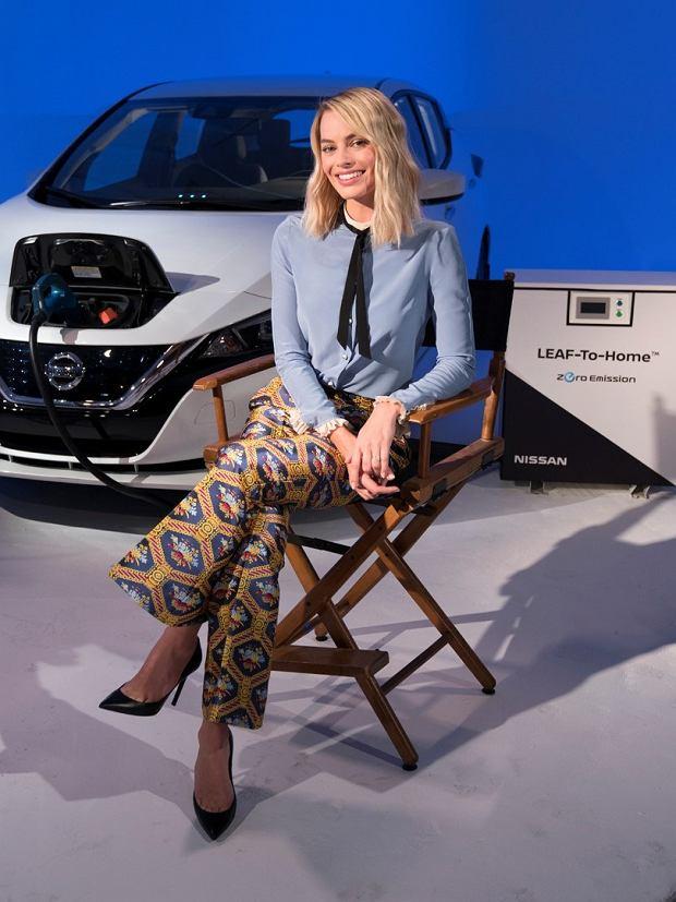 Margot Robbie odsłoni bolid Formuły E