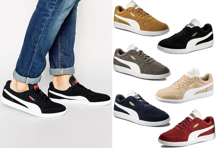 Sneakersy PUMA Icra Trainer SD 356741 32 Honey MustardPuma White