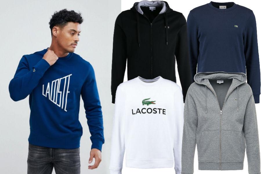 Kolaż / Lacoste / Materiały partnerów
