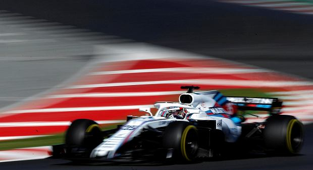 Williams driver Sergey Sirotkin of Russia steers his car during a Formula One pre-season testing session in Montmelo, outside Barcelona, Spain, Tuesday, March 6, 2018. (AP Photo/Manu Fernandez)