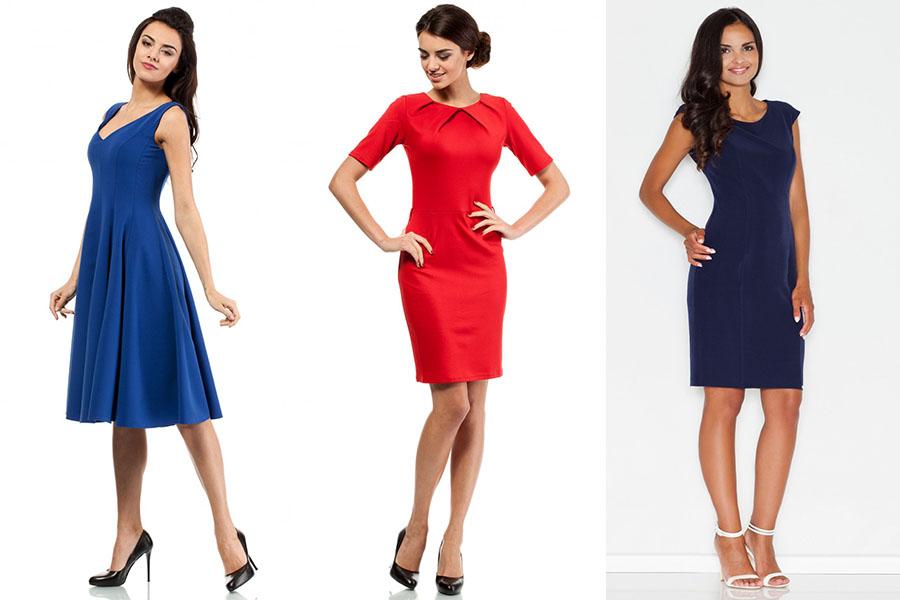 Sukienki w soczystym kolorze