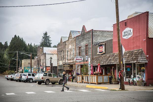 Roslyn, które zagrało miasteczko Cicely w kultowym serialu 'Przystanek Alaska'
